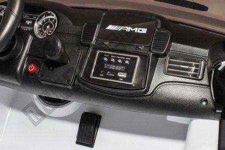 Auto battery Mercedes Benz AMG GLS63 white