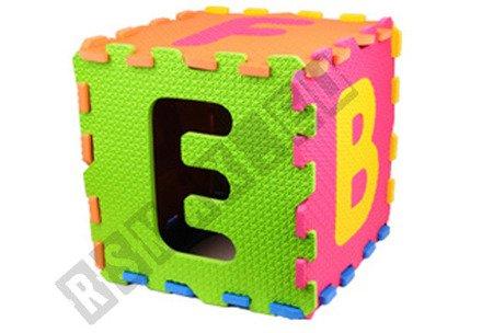 Bodenpuzzle Puzzlematte Kinderteppich Spielteppich Krabbeldecke Matte 26tlg EVA