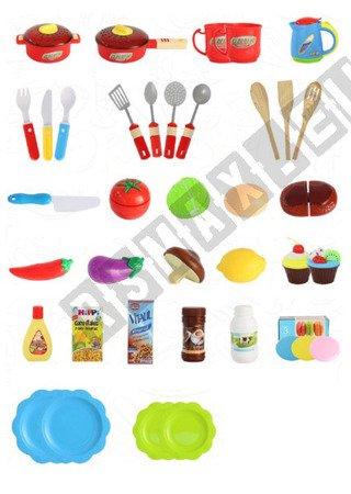 Große Küche mit Touch Panel Wasserhahn mit Wasser, Kinderküche Spielküche  rosa