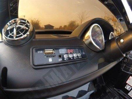 Kinderauto Mercedes-Benz SL65 AMG Coupe Elektroauto Kinderfahrzeug Ledersitz schwarz