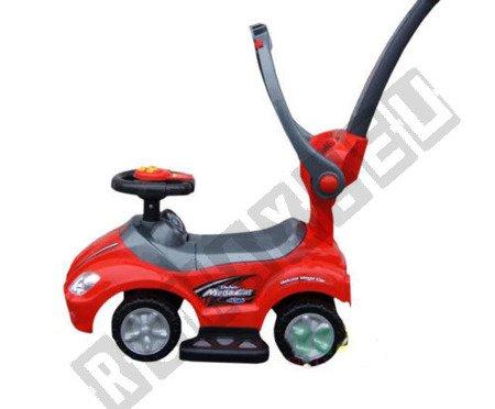 Rutschauto-Lauflerngerät-Rutscher Kinderauto Kinderfahrzeug 3in1 Z382 Rosa