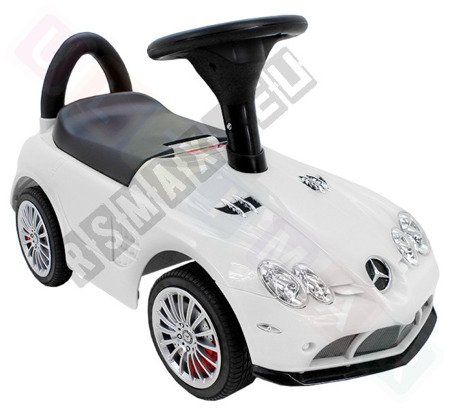 Jeździk MERCEDES SLR McLAREN autko pchacz biały
