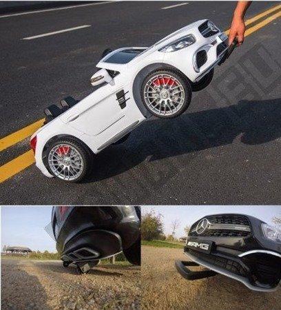 Mercedes-Benz SL65 AMG Coupe na akumulator biały