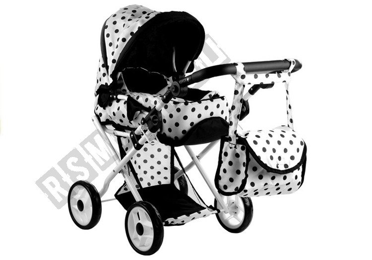 Doll Bogie and Stroller Alice- with Carrier, Bag and ...