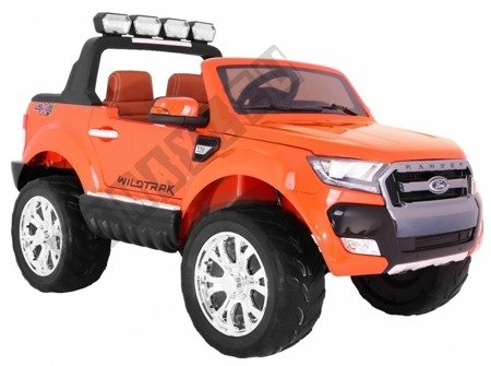 Auto battery Ford Ranger orange lacquered