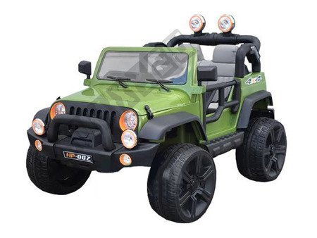 Huge double jeep to battery green