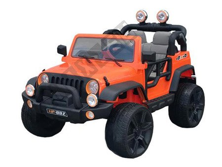 Huge double jeep to battery orange