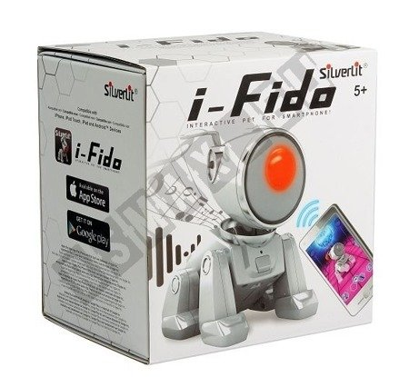 The interactive little dog Fido-remote controlled