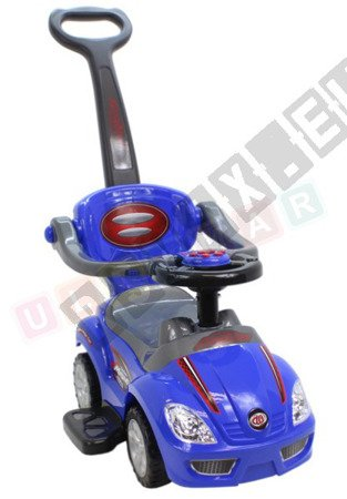 The vehicle, Walker, pusher 3 in 1 blue