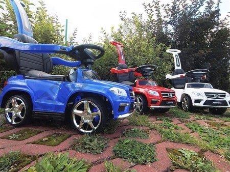 Vehicle pusher Mercedes GL63 AMG blue
