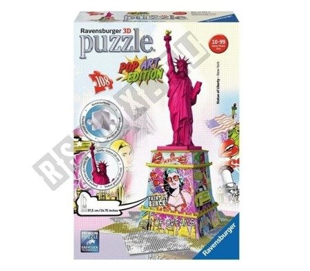 3D Puzzle Statue of Liberty POP ART EDITION 108 elements