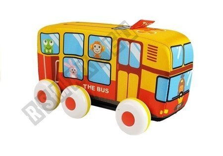 A Large Soft Motorized Bus For The Youngest