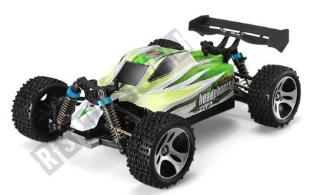 A remote-controlled car Perfect 1:18 4WD 2. 4 GHz