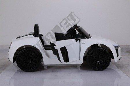 Auto battery Audi R8 Spyder license white
