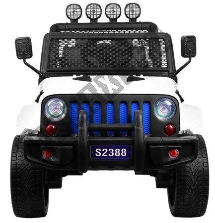 Auto battery Jeep 4 x 4 OFF ROAD white