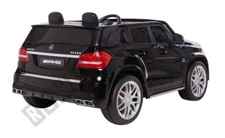 Auto on battery Mercedes GLS63  black