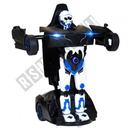 Auto remote control RS X MAN Transformer RASTAR Black
