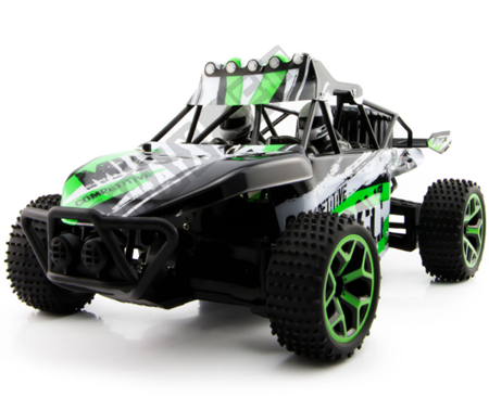 Auto remote control TM X-Knight 1/18 RC green