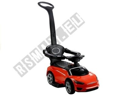 BDQ5199 Toddler's Ride-On with Parent Handle Red