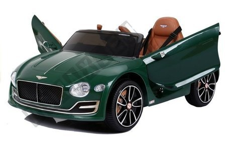 Bentley Electric Ride On Car - Green Painted