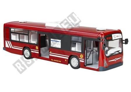 Big R/C Bus 2 Colours Remote Control Charger Batteries 33 cm