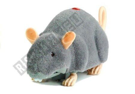 Big RC Mouse Toy on Wheels Grey- Make a Prank