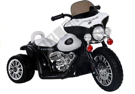 Black Electric Ride On Motorcycle JT568