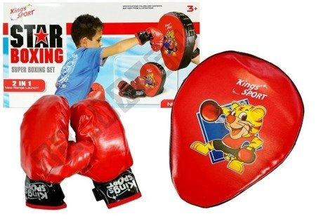 Boxer Set with Gloves Target