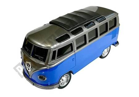Bus with a drive Blue