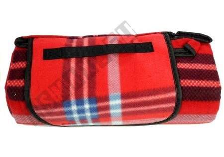 Checkered Picnic Blanket 150x200 Red-Blue