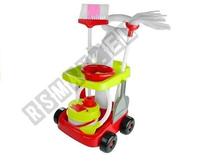 Cleaning kit Trolley Mop Broom 9 Elements