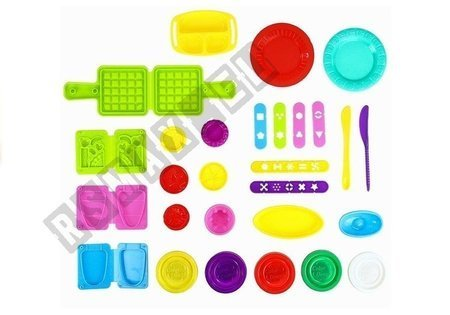 Color Dough Series Educational Table With Accessories