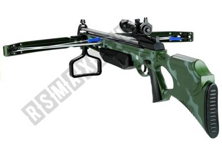 Crossbow with laser 3 arrows on the suction cup Camo weapon