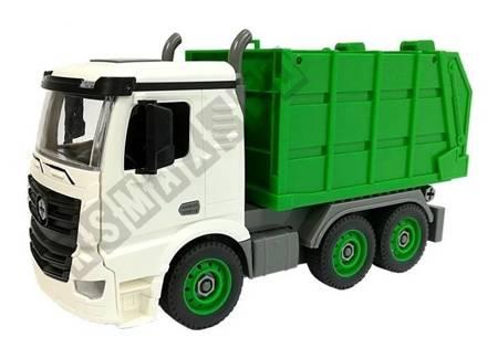 DIY Car 1:14 Garbage Truck with Screwdriver
