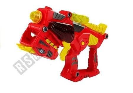 Dinosaur Weapon Gun 3 in 1 transforming with lights