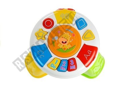 Educational Music Table for Baby Colorful Lights