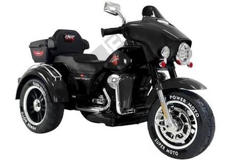 Electric Ride-On Motorbike SX138 Black