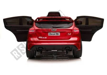 Ford Focus RS Red Painting - Electric Ride On Car