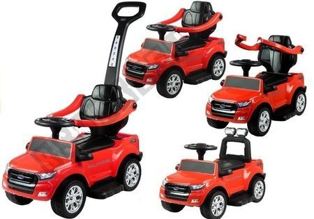 Ford Ranger Wildtrak Red - with Parent Handle