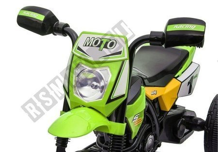 GTM2288 Electric Ride On Motorbike - Green
