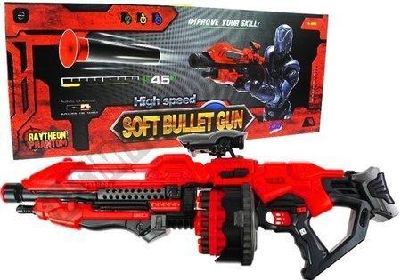 Giant Pistol 80cm 20 Foam Cartridges Rifle