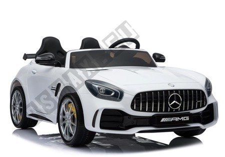HL289 Mercedes GTR Electric Ride-On Car - White
