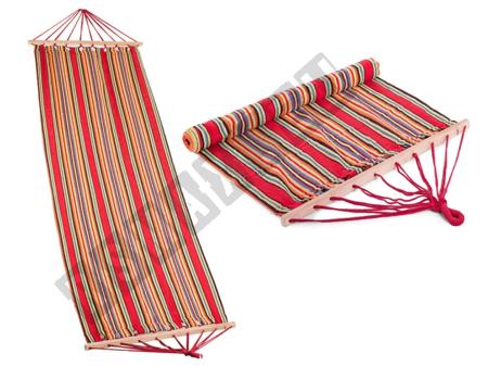Hammock with Slat Colorful Stripes