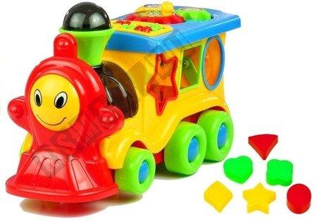 Happy Train Educational Funny Shapes Blocks