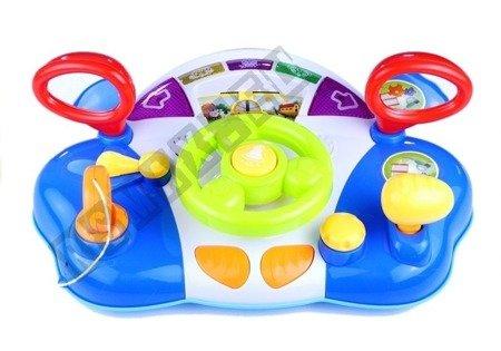 Interactive Steering Wheel For Children Dashboard Sounds
