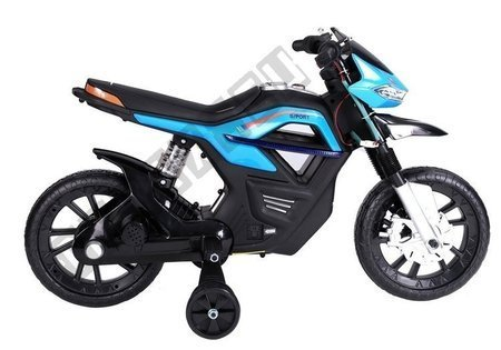 JT5158 Electric Ride-On Motorbike - Blue