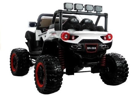 Jeep XJL-588 Electric Ride On The Car - White