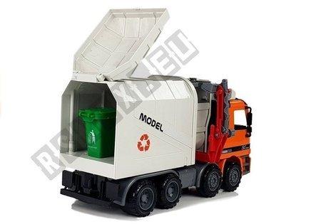 Junk Truck Dumper City Services Friction Drive