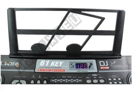 Keyboard 328-06 + Adapter Microphone Music Stand
