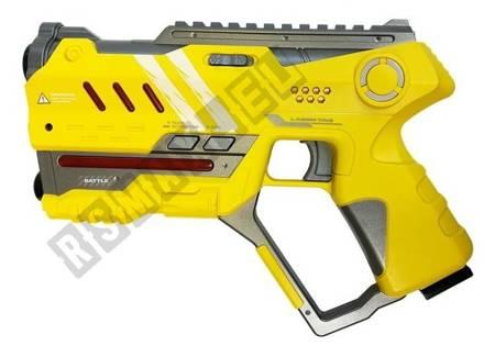 Laser Tag Pistol Set 4 Teams 2 Colors Green Yellow